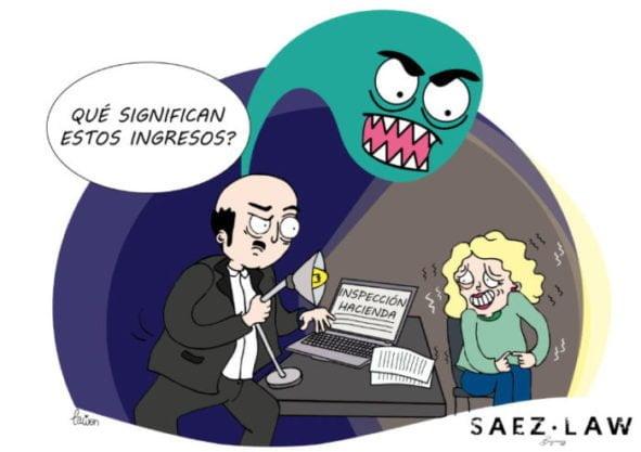 LA CARTA NEGRA DE HACIENDA, ALVARO SÁEZ Y SAEZ.LAW