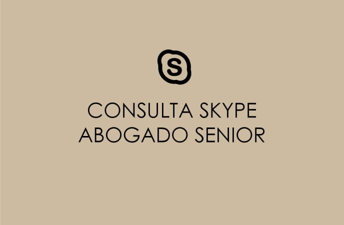 CONSULTA SKYPE ABOGADO SENIOR
