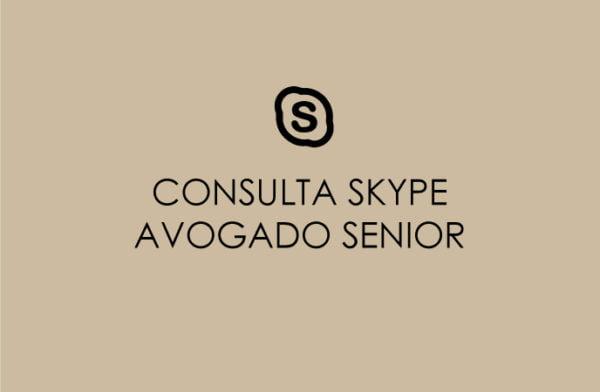 CONSULTA SKYPE AVOGADO SÉNIOR
