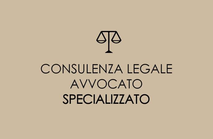 CONSULENZA LEGALE CON AVVOCATO SPECIALISTA SENIOR