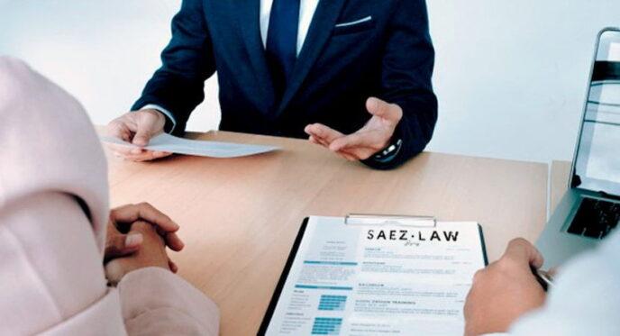 Consulta legal SAEZ.LAW