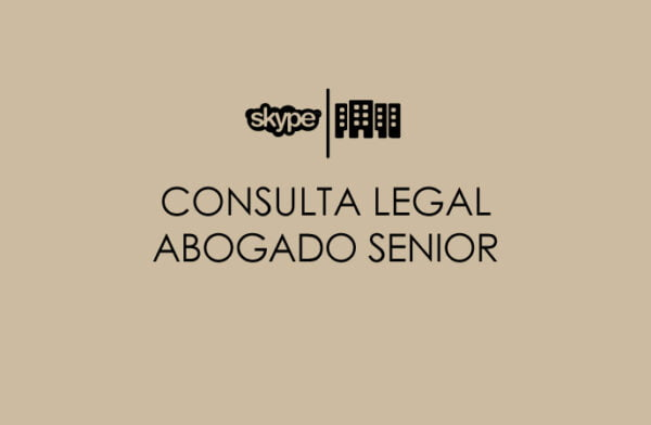 Consulta legal abogado senior