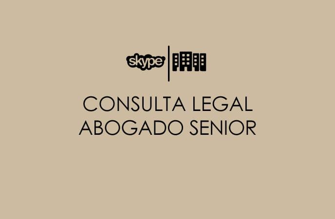 Consulta legal abogado senior