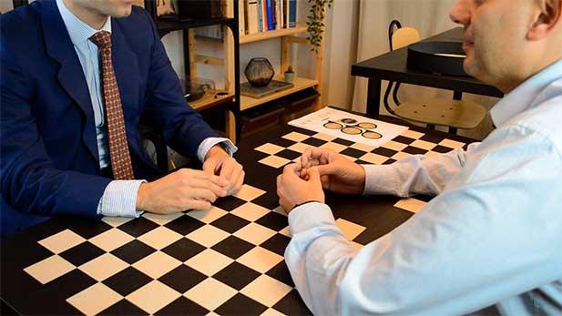 reunião no escritório