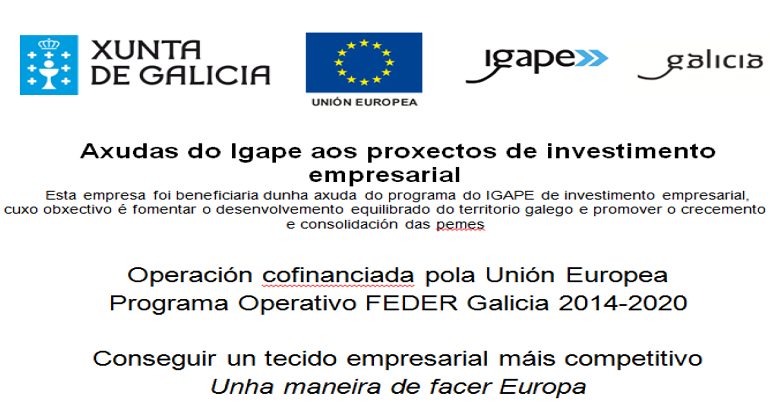 Ayudas del Igape a los proyectos de inversión empresarial