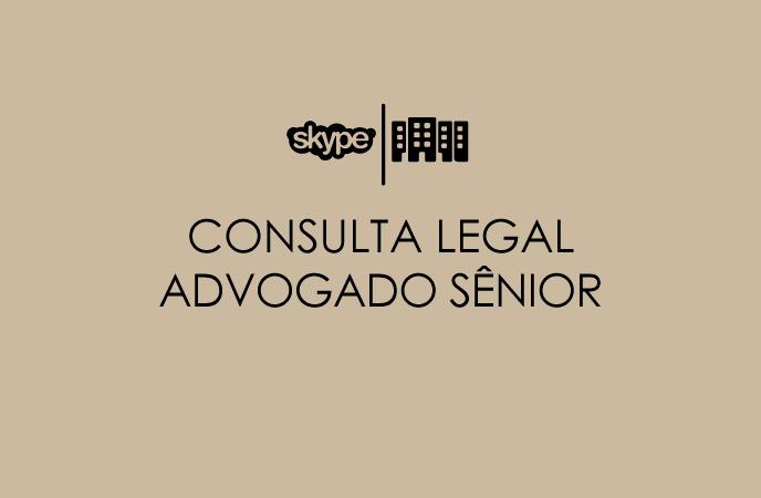 CONSULTA LEGAL ADVOGADO SÊNIOR