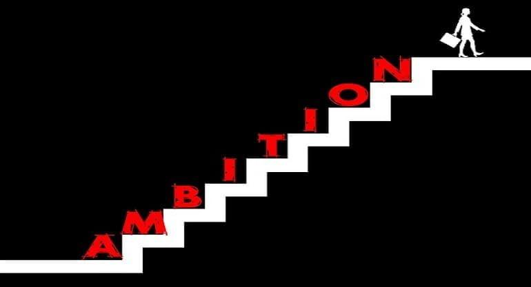 escaleras ambicion