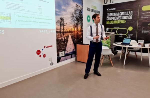 Soy Álvaro Sáez, abogado fiscalista en Vigo, Círculo de Empresarios.